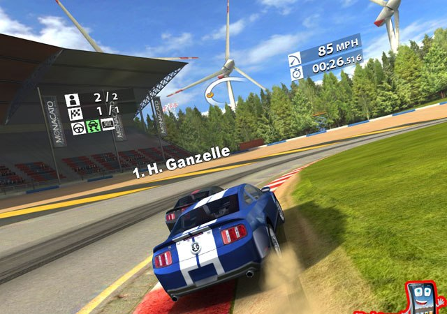 Real Racing 2 HD скриншот