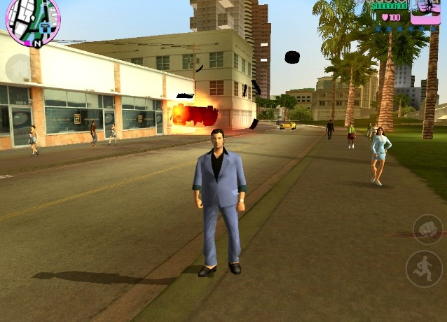 GTA Vice City на iPad