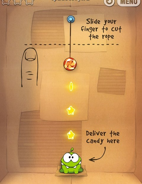 Cut The Rope ipad