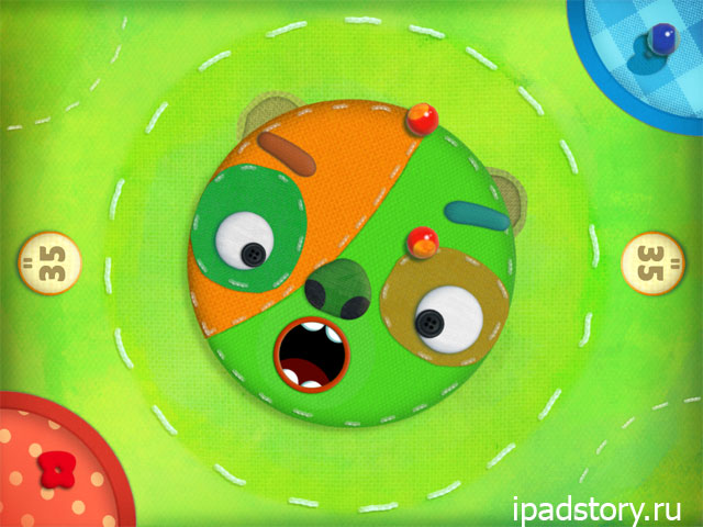 Marble Mixer - режим Monster picnic
