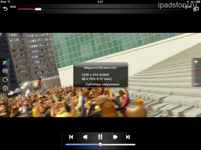 avplayer iPad