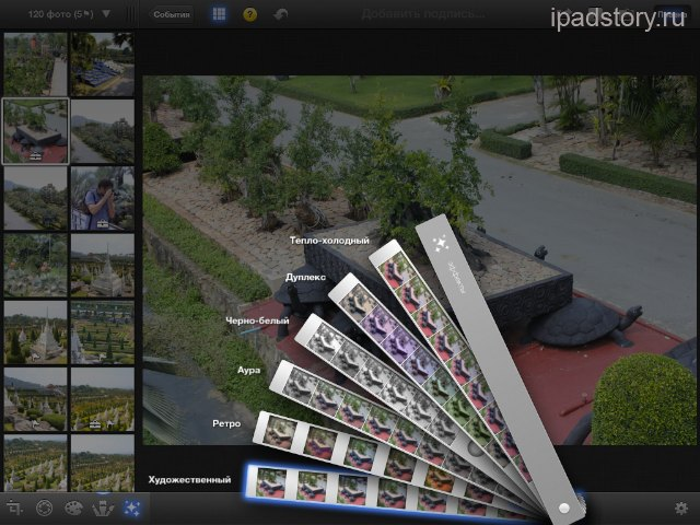 iPad iPhoto